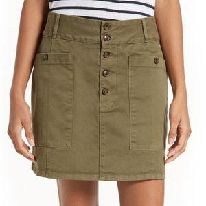 FRAME Le Chino Skirt